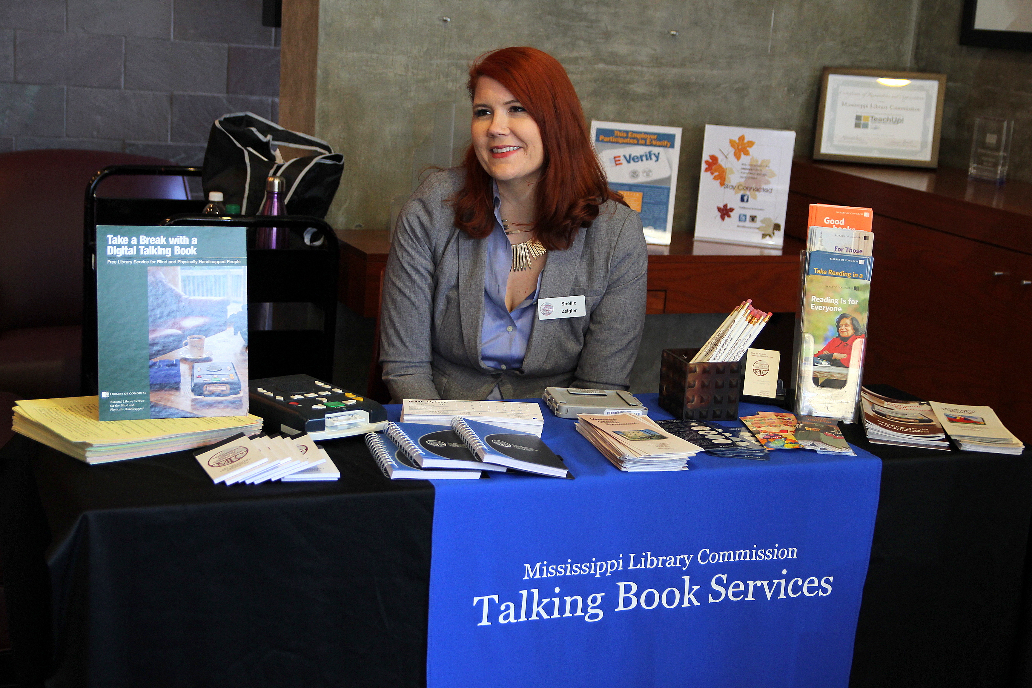 The Mississippi Library Commission serves as a free public library service  for eligible Mississippi residents who are unable to read standard print  due to a ...
