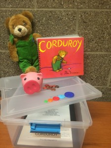 Corduroy Sensory Story Kit